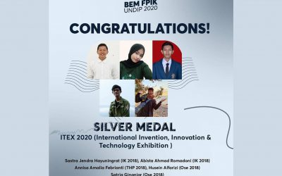 Silver Medal ITEX 2020 International Invention and Innovation Exhibition Malaysia
